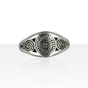 Bague bretonne traditionnelle KELT
